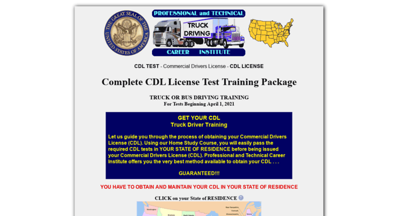 Access tech-career.com. CDL License - Commercial Drivers License ...