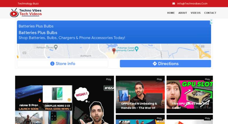 technovibes.co.in screenshot