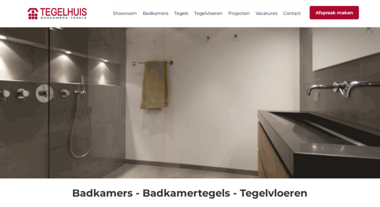 Beautiful Tegelhuis Badkamers En Tegels Contemporary - Huis: design ...
