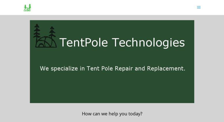 Access tentpoletechnologies.com. TentPole Technologies u2014 Tent Pole Repair and Replacement Specialist : tent pole technologies - memphite.com