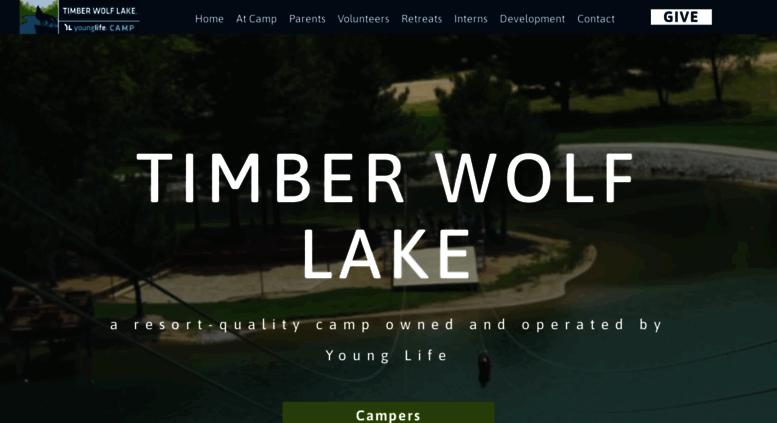 Access Timberwolfyounglife Welcome To Timber Wolf Lake