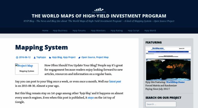 Hyip business zone