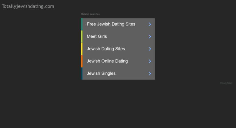Totally jewish dating
