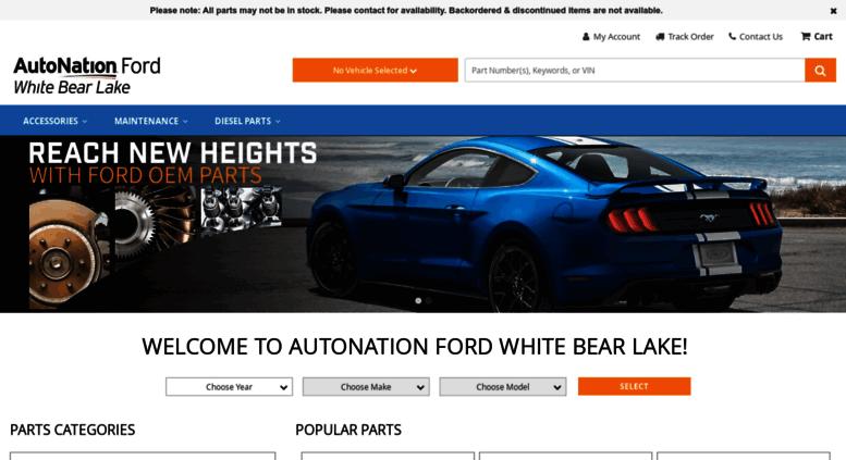Access Tousleyfordparts Com Autonation Ford White Bear Lake Parts
