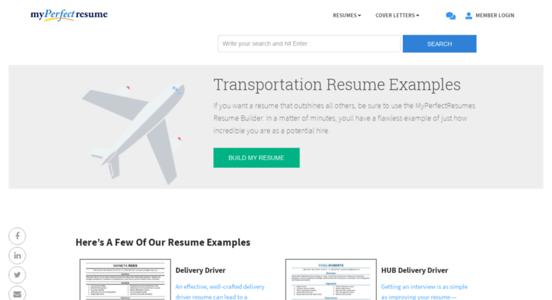 access transportationmyperfectresumecom impactful professional transportation resume resume examples resources myperfectresume