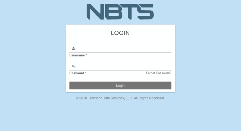login nbts agency manager - Agency Manager