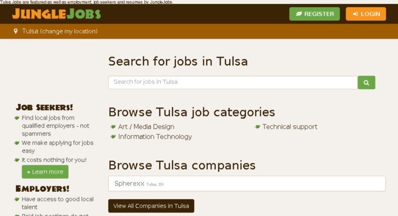 Job search tulsa