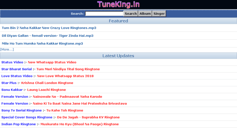 ZEE TV Mobile Apps: Download Ringtones