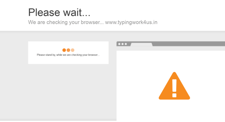 Access typingwork4us.in. Online Typing Work From Home