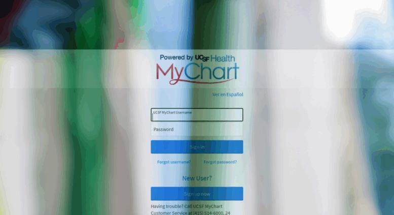 Access ucsfmychart ucsfmedicalcenter org mychart application