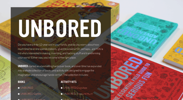Access Unbored UNBORED The Essential Field Guide To Serious Fun