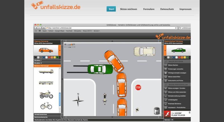 Access unfallskizze.de. Unfallskizze - Verkehrs-Unfallskizzen und ...