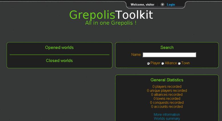 Access Usgrepolistoolkitcom GrepolisToolkit Le Tout En Un - Grepolis us maps