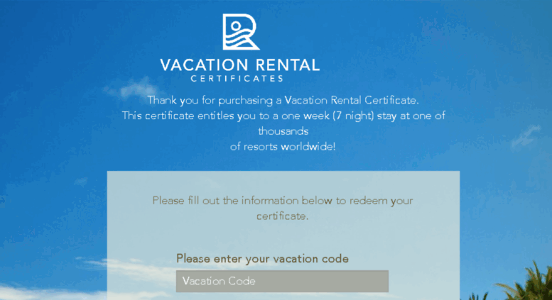 Access Vacationrentalcertificatesleisureloyalty Vacation