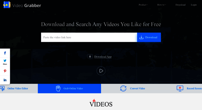 Access videograbber.net. Grab online videos for free from YouTube ...