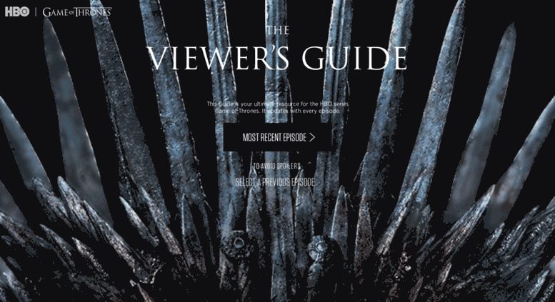 Access viewers guidehbo game of thrones viewers guide gumiabroncs Images