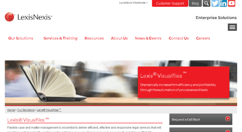 legal workflow and case management platform lexisnexis enterprise solutions