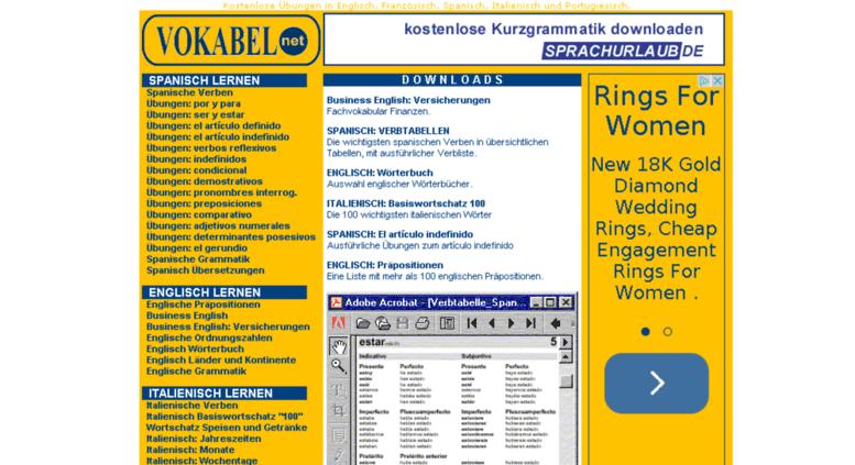 Access vokabel.net. VOKABEL.net - Spanisch Übungen, Englisch Übungen ...