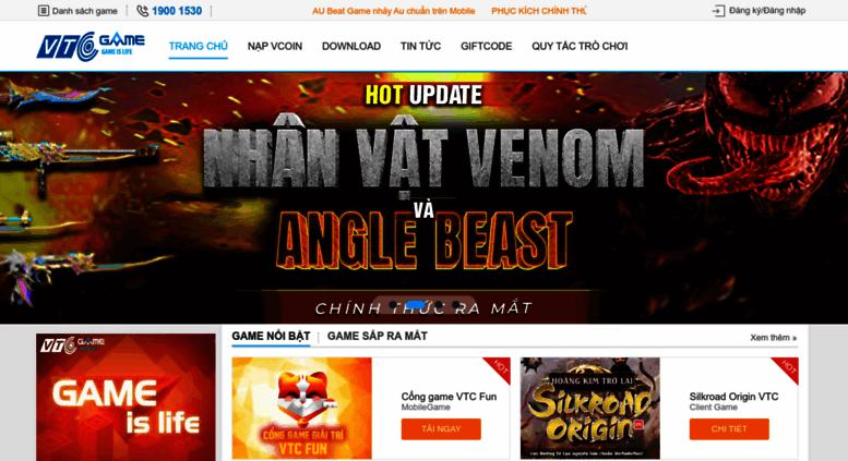 access vtcgame vn webgame online web game online mới nhất tuyển