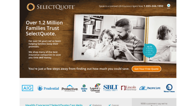 Best Term Life Insurance Quotes U0026 Rates | SelectQuote