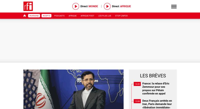 www rfi fr radio en direct
