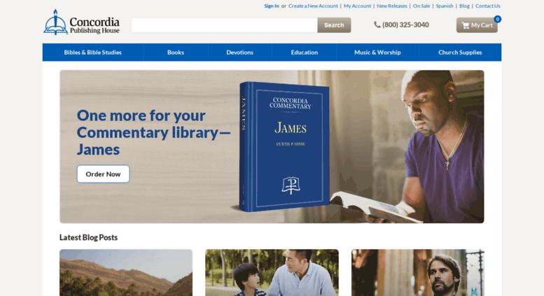 Concordia Publishing House: Bibles, Christian Books, Church Supplies,  Lutheran Curriculum U0026 More
