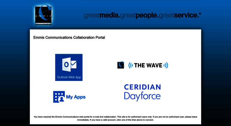 Great People Portal on