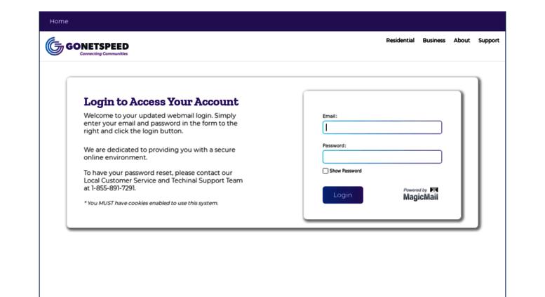 modern login page