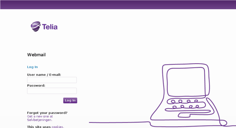 webmail telia dk