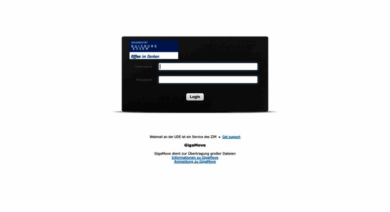 Uni Duisburg Login