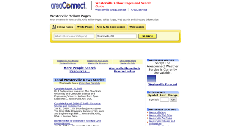 Access Westervilleeaconnect Westerville Yellow Pages And