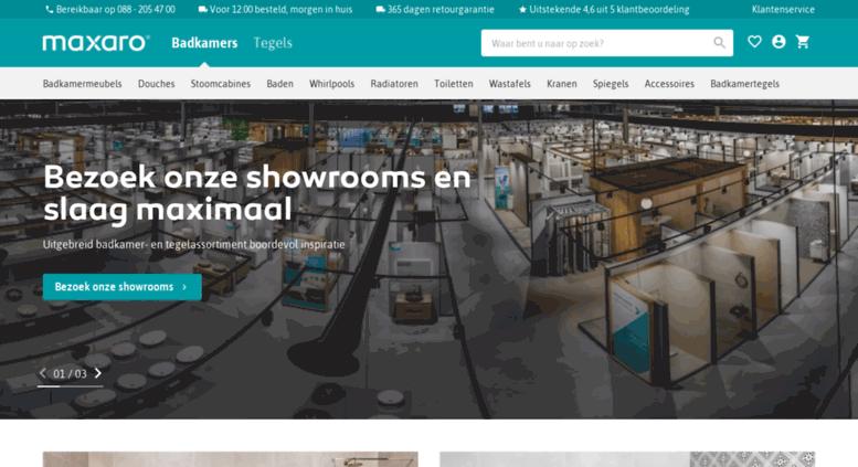 Access whirlpool-outlet.nl. Keukens, Tegels & Badkamers specialist ...