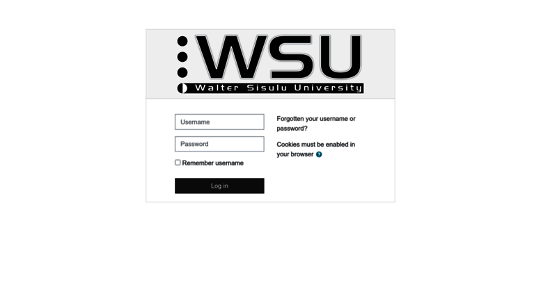 Washington State University - Blackboard Learn
