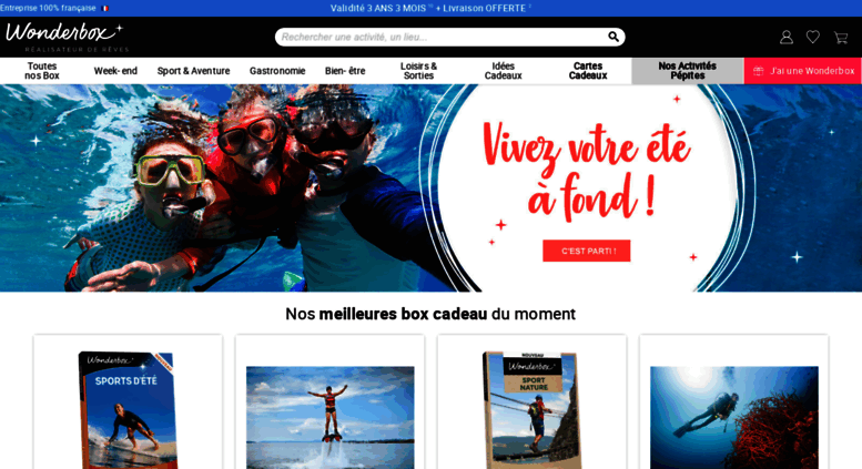 prolonger wonderbox expirée