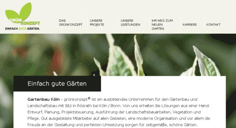 Access Wp Gruen Konzept Net Grunkonzept Gartenbau Koln