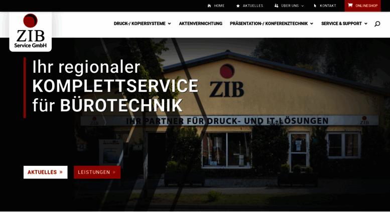Access Zib Service De Zib Burosysteme Service Burotechnik
