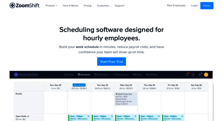 work schedule maker online free