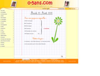 0-5ans.com screenshot