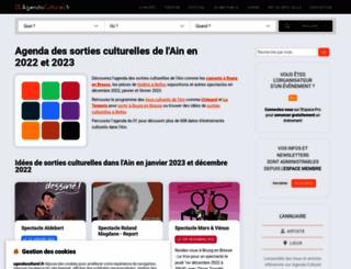 01.agendaculturel.fr screenshot