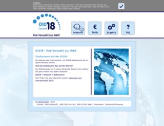 01018.net screenshot