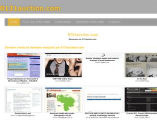 0131auction.com screenshot