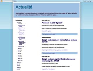01actualite.blogspot.com screenshot