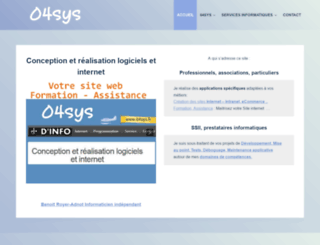 04sys.fr screenshot