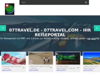 07travel.de screenshot