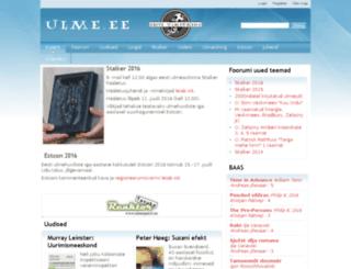 08.ulme.ee screenshot