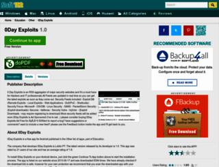 0day-exploits.soft112.com screenshot