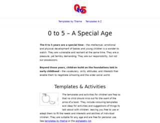 0to5.com.au screenshot