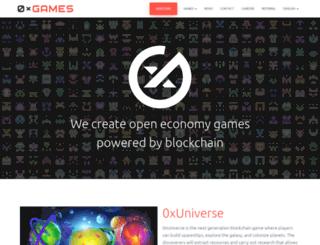 0x.games screenshot