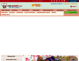1-800-bakery.com screenshot