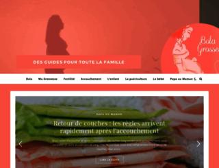 1-bola-de-grossesse.com screenshot